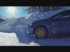 Subaru спустили с бобслейной трассы